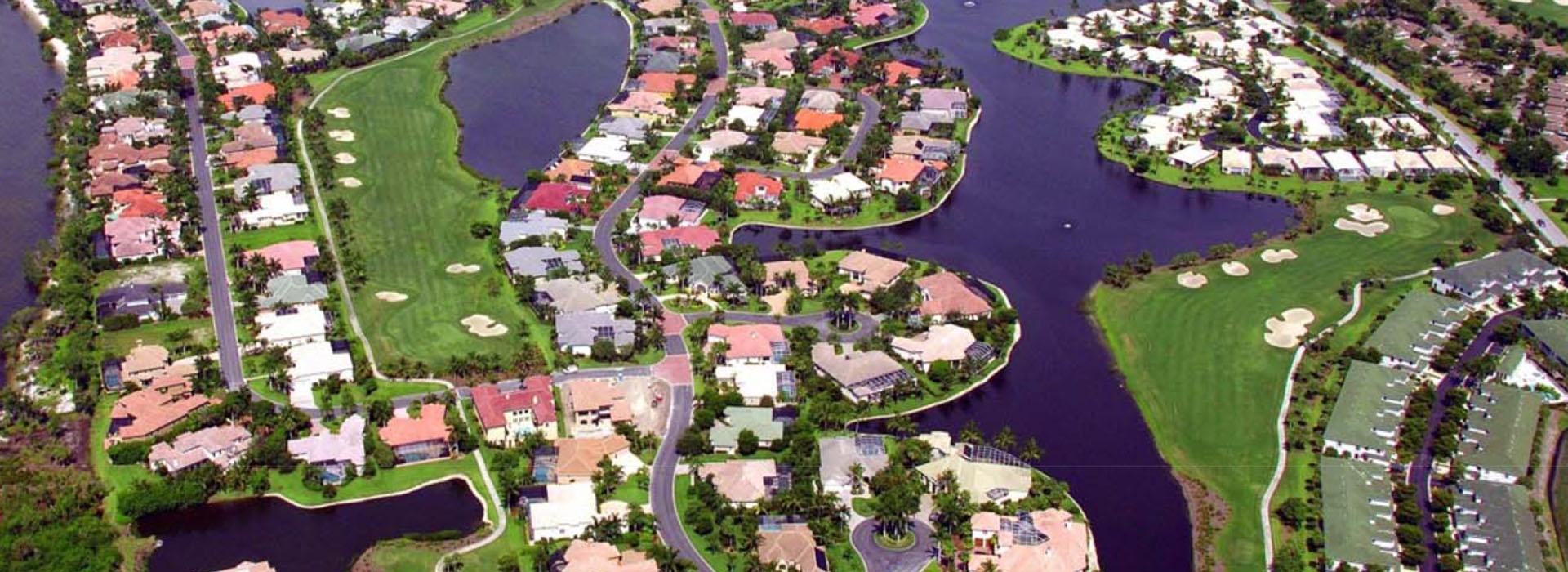 Gulf Harbour aerial slider