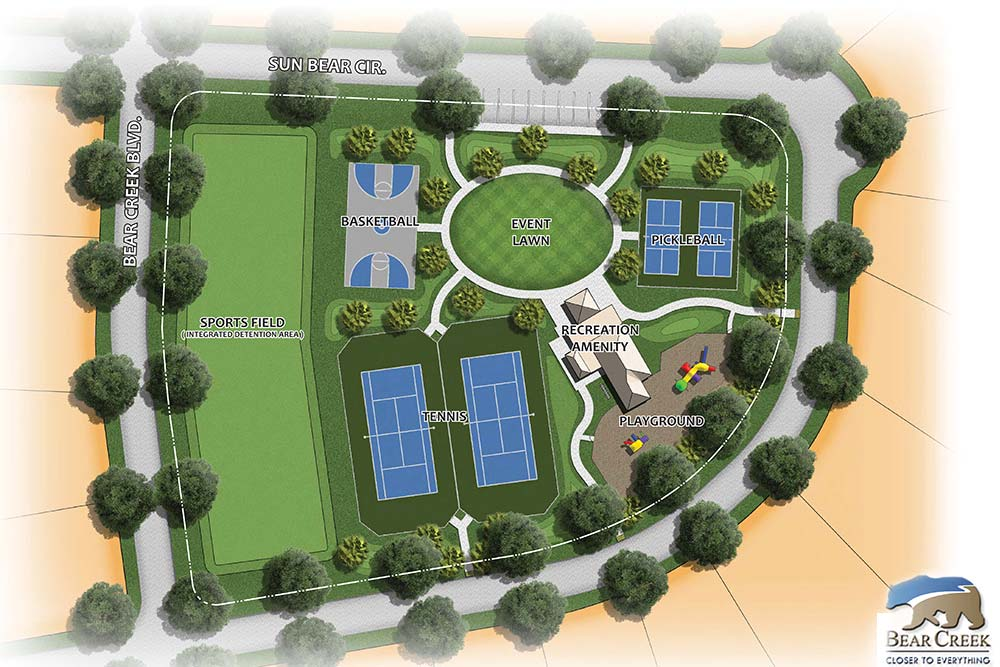 Bear Creek Illustrative Site Plans Layout